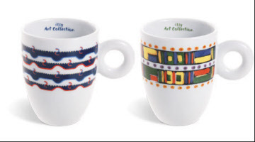 illy art collection coffee mugs